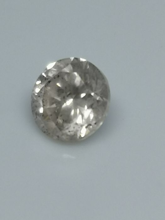 0.96 ct - Round Brilliant - White - I / SI3 - No minimum price