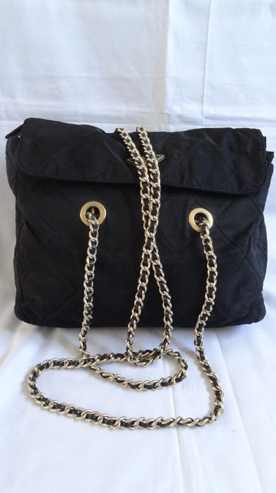 fe8b894a65aa72 Prada - Chain Strap Shoulder bag - Vintage - Catawiki