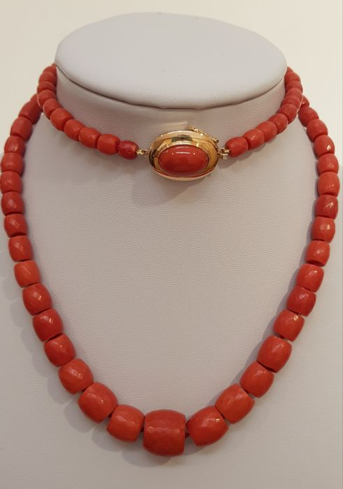 Necklace - Coral