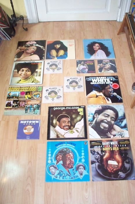 Lot of 10 LP`s and 4 Single`s