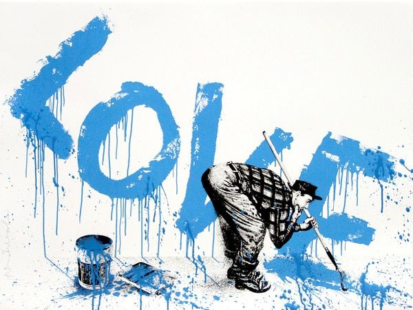 Mr Brainwash  - All You Need Is (Blue)
