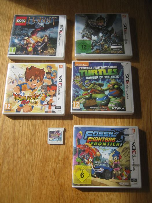 6 nintendo 3ds games like pokemon y without the box - Lego inazuma eleven ...