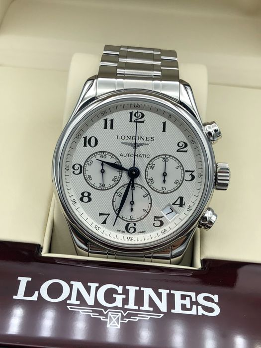 Longines - master collection chronograph 44 MM - L2.693.4 - Herren - 2016