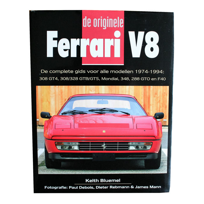 Books - De originele Ferrari V8. Alle modellen '74-'94 - 1997 (1 items)