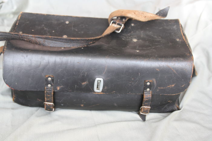 Tool bag - Zwart leder - 1960 (1 items)