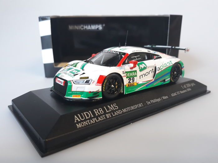 MiniChamps - 1:43 - Audi R8 LMS Montaplast by Land-Motorsport #29 - ADAC GT Masters 2016 - Limited Edition of 200 pcs.