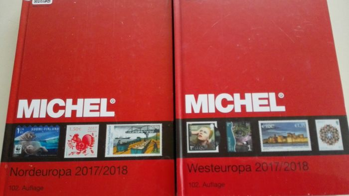 Literature - Michel North-West Europe 2017/18