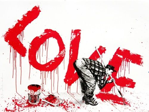 Mr Brainwash - All You Need Is (Red)
