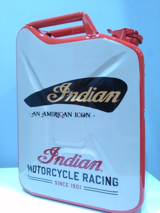 Decoratief object - Jerry Can Decoración INDIAN MOTORCYCLE RACING. - 2018-2018 (1 items)