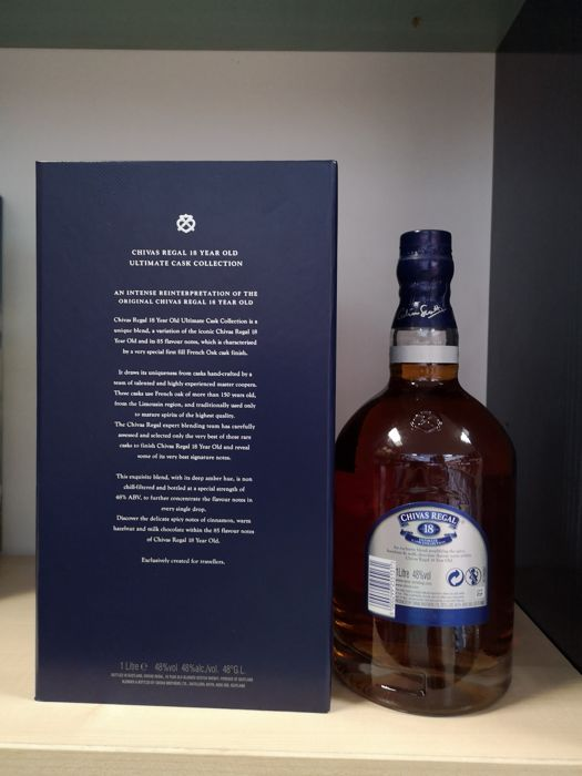 Chivas regal 18 years old ultimate cask collection 1 0 litre catawiki - Chivas regal 18 1 liter price ...