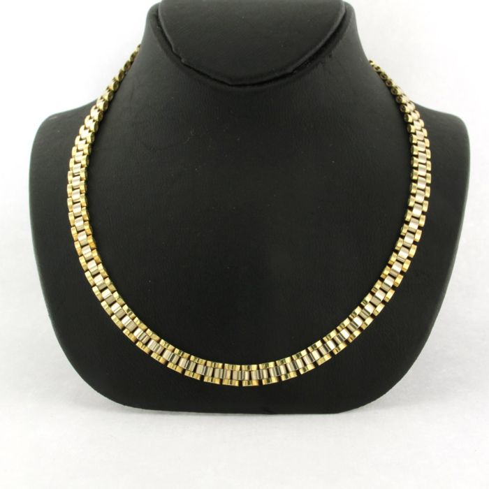 Collar - Oro, Oro blanco
