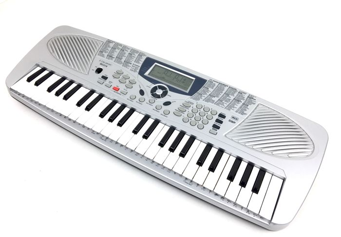 McCRYPT MC37A - Mini-keyboard (49 keys) with very good sounds and patterns, microphone jack, USB