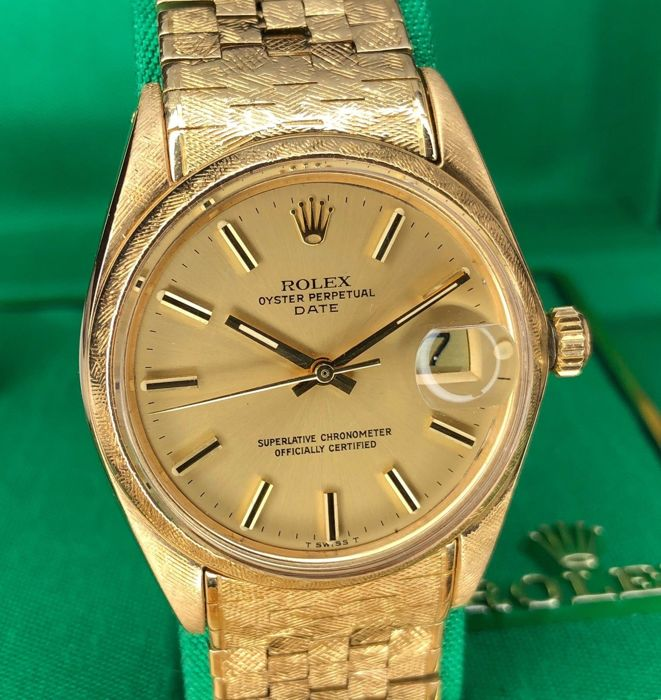 Rolex - Oyster Perpetual Date Florentine - 1502 - Hombre - 1950-1959