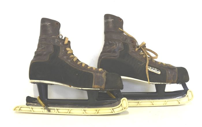 Boots for ice skating. Vintage, 1950s/60s - Canada