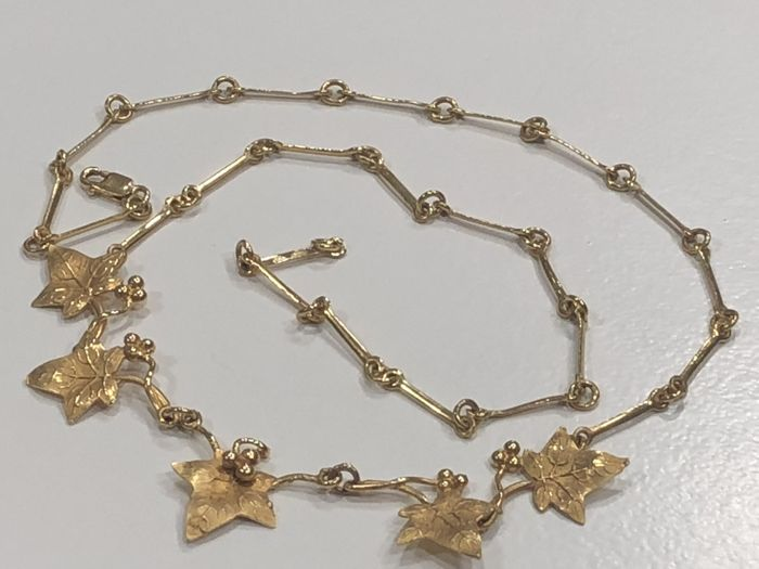 18 kt. Gold - Necklace, Necklace with pendant