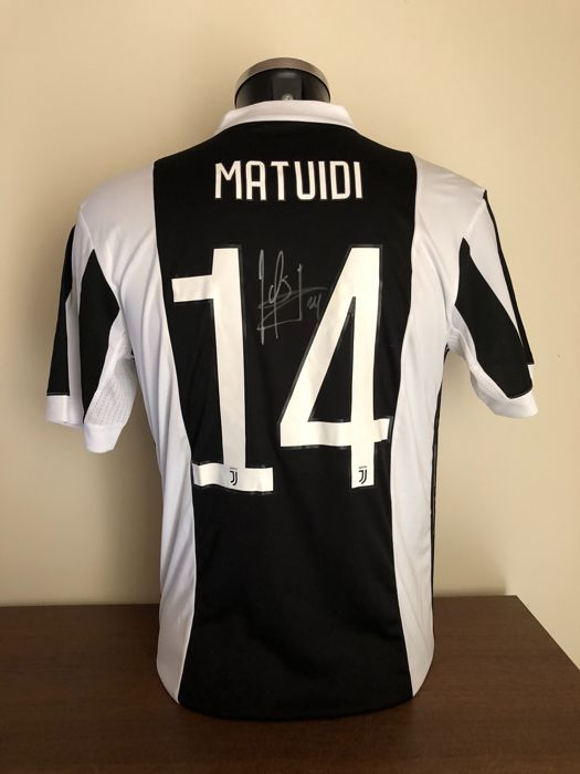 new style ebaa2 63094 Blaise Matuidi signed Juventus Fc home shirt 2017-2018 with ...