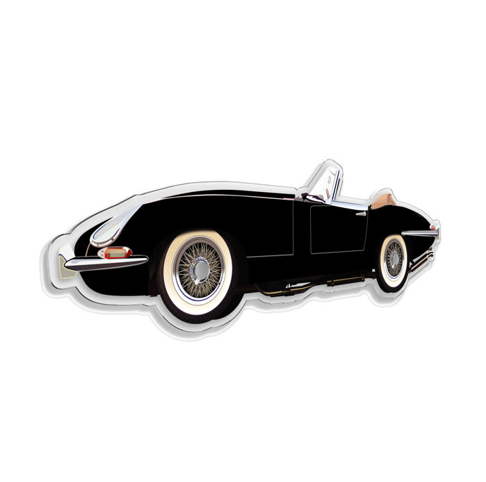 Oggetto decorativo - SL- Halmo interpretation Jaguar E Cabriolet - 2018