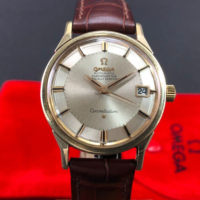Omega - Constellation Solid 14kGold Automatic Pie Pan Dial - 14902SC - Men - 1960-1969
