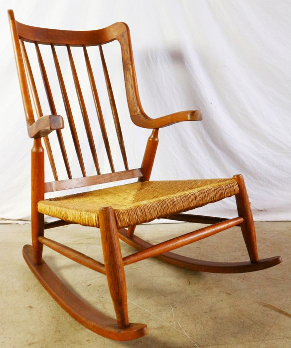 Brilliant Manufacturer Unknown Oak Rocking Chair Catawiki Gmtry Best Dining Table And Chair Ideas Images Gmtryco