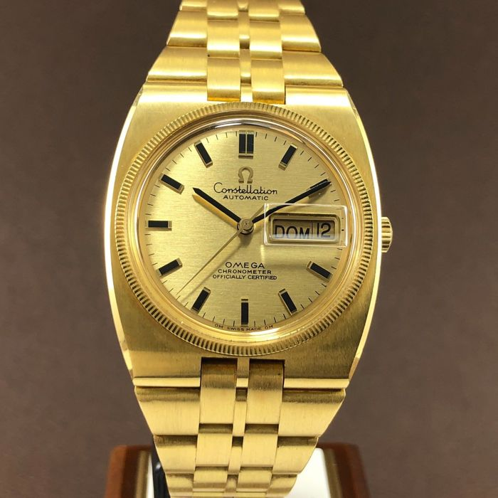 Omega - Constellation De Luxe Day-Date 18k  - 168.045-368.845 - Unisexe - 1960-1969