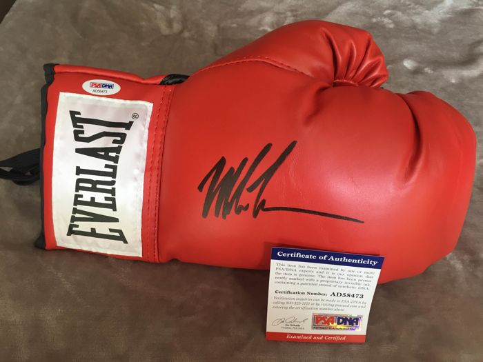 Amazing boxing globe hand-signed by the best Mike Tyson with COA/PSA!!!