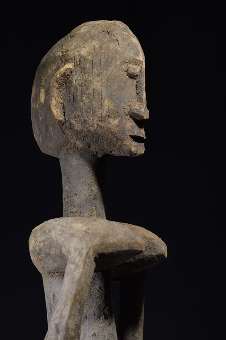 A very old Dogon Nommo altar figure