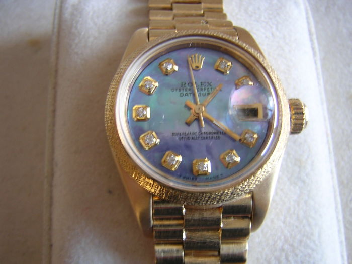 Rolex - Oyster Perpetual Datejust - 6901 - Women - 1970-1979