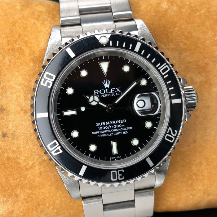 "Rolex - Submariner Date ""Swiss Only"" - 16610 - Herren - 1990-1999"