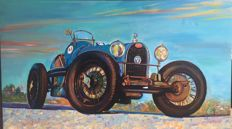 Painting - Oldtimer