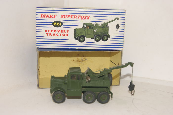 Dinky Toys - 1:48 - British Army Scammell Recovery Tractor no.661 - 1957 - Supertoys Series