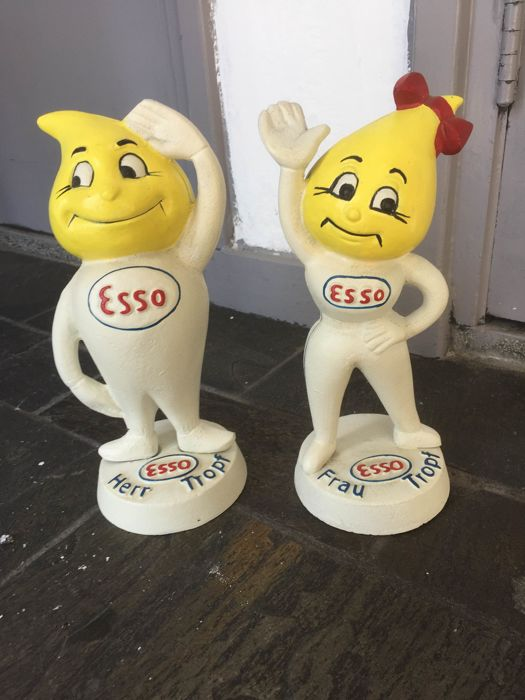 Decorative object - Esso - 2000-2005 (2 items)