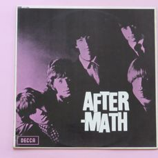 The Rolling Stones, Aftermath first press mono copy on silver/red unboxed Decca ( Decca LK.4786, 1966, UK, mono), RARE!