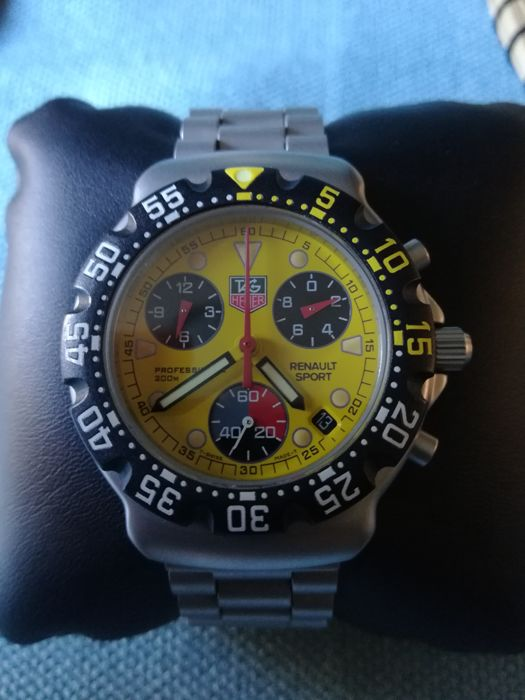 Tag Heuer Formula 1 Chronograph Renault Limited Edition Ca1213 Men 2000 2010 Catawiki