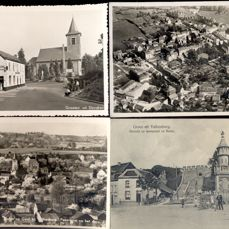 Dutch province of Limburg - the Netherlands - 148 cards; old and very old village and city views