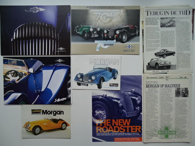 Brochures / Catalogues - MORGAN 4/4, 4/4 4-Seater, Plus 8, Aero 8 - 1977-2006 (8 objets)