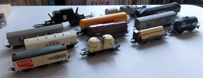 Lima H0 - Transport de fret - 12 wagons - DB, FS, NS, SNCF