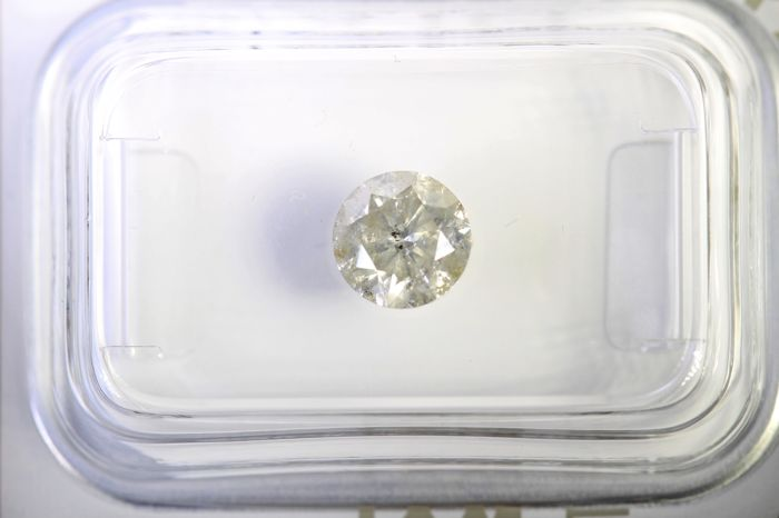 AIG Antwerp Sealed Diamond - 0.97 ct - Colour: G, Clarity: I2