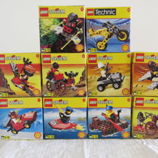 Shell - series 1998 set number 2535 to 2544