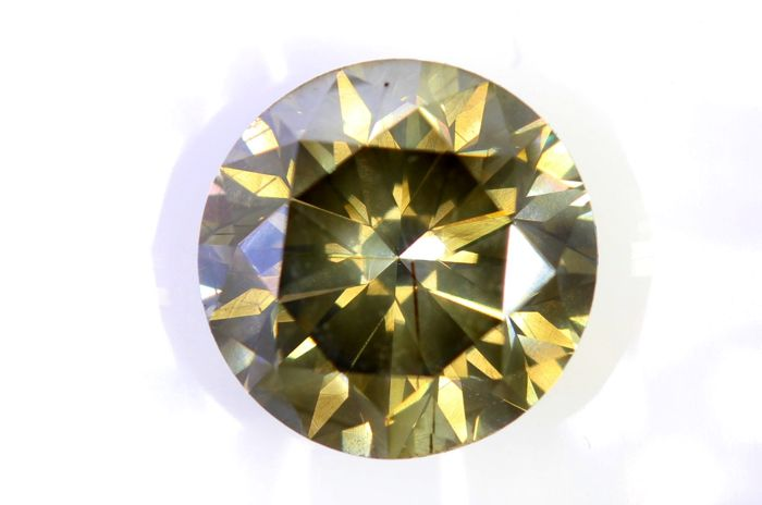 AIG Diamond - 2.60 ct - Fancy Yellowish Brown, SI2