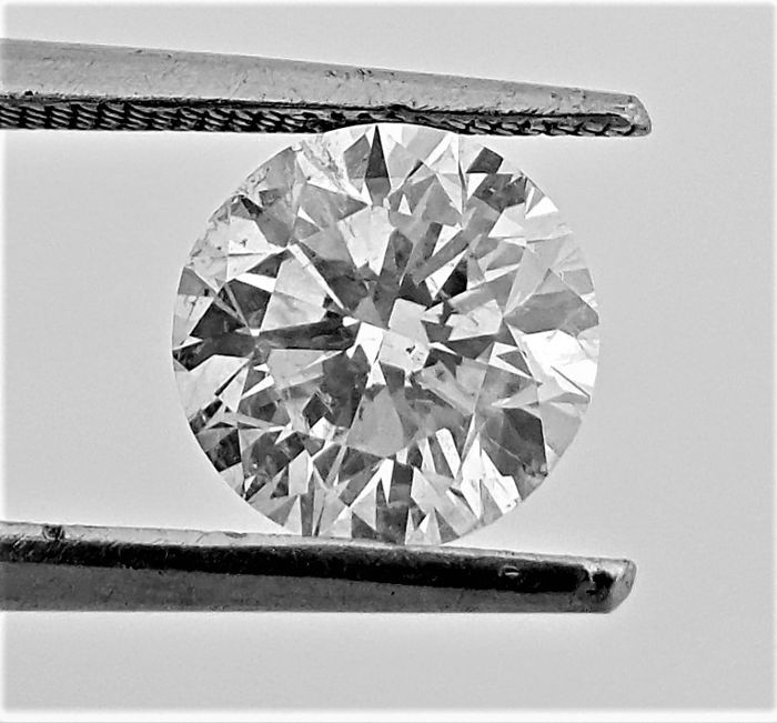 Diamant - 1.63 ct - Brillant - F - VS2