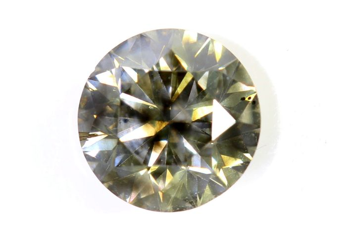 AIG Diamant - 1.37 ct - Fancy Yellowish Brown , SI1