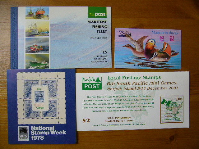 World - Party of 240 stamp and prestige booklets