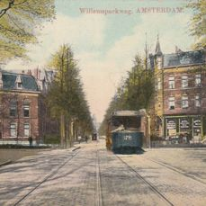 Amsterdam old postcards - period: 1900-1940; 96x
