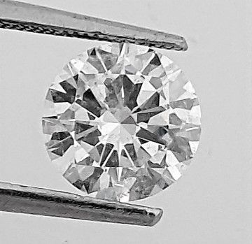Diamond - 1.51 ct - Brilliant - D (colourless) - Clarity Enhanced, VS2