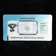 Natural Diamond - 0.93 ct, Q-R / I1 - NO RESERVE PRICE