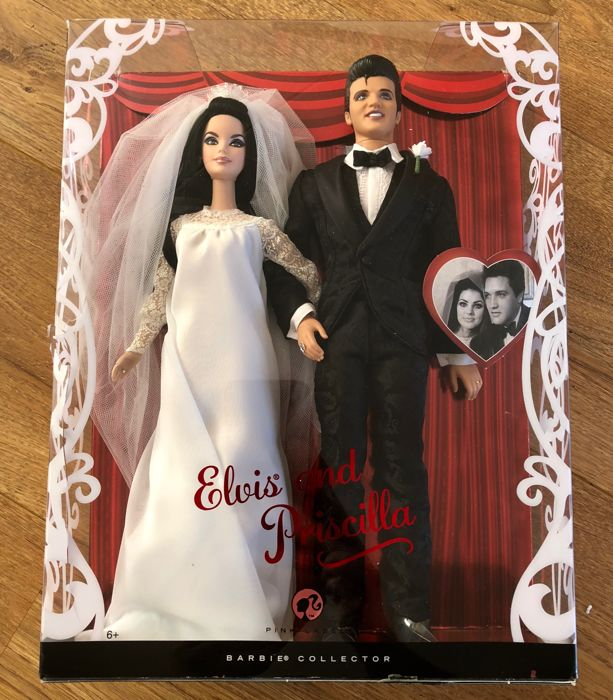 Elvis and Priscilla Wedding Barbie (mint)