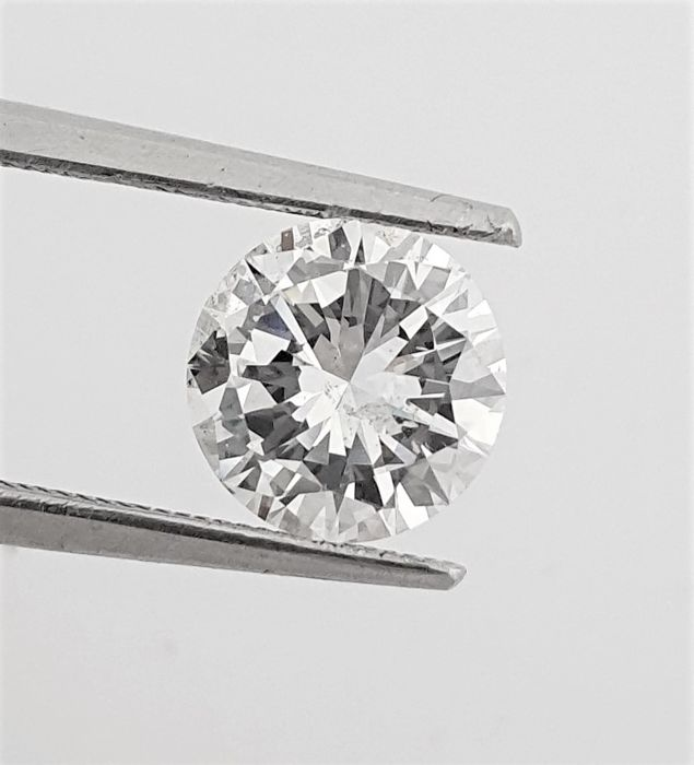 Diamant - 1.60 ct - Briljant - D (kleurloos) - VS1