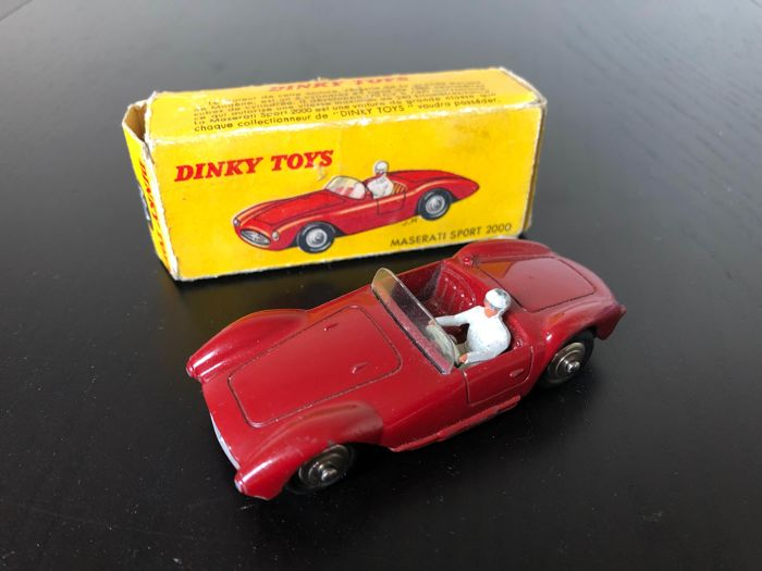 Dinky Toys 22A Maserati Sport 2000 boxed