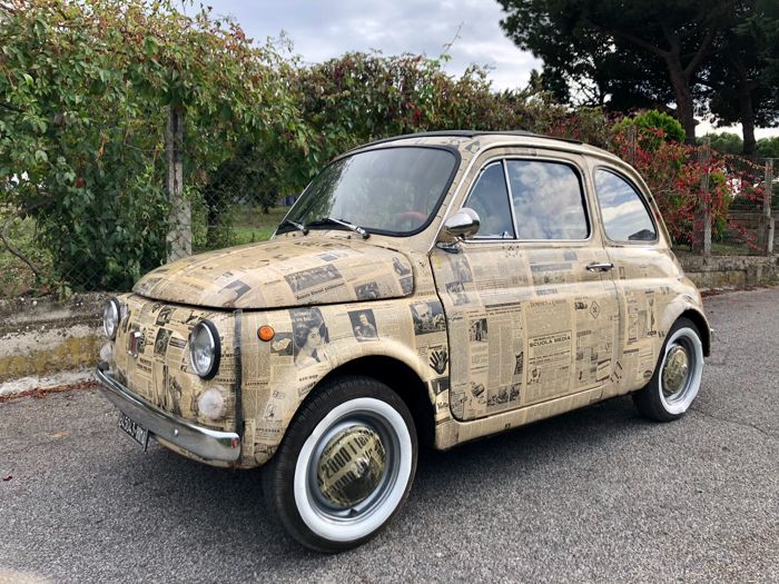 Fiat 500 L Wrapping Style 1968 Catawiki
