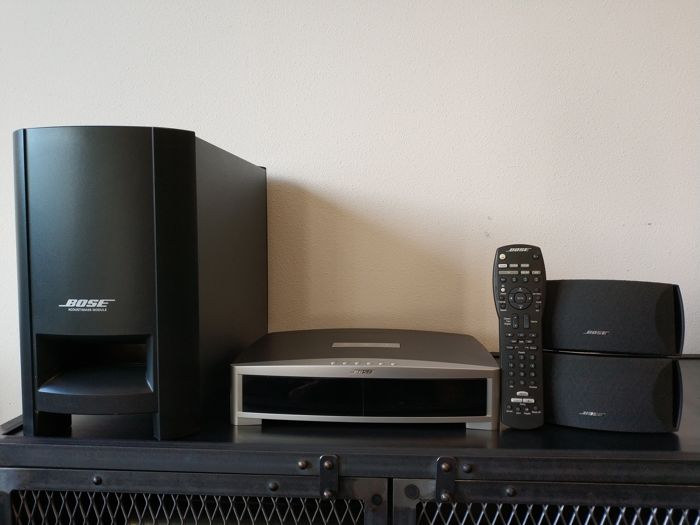 bose 321 gsx series ii with harddisk and bluetooth streaming catawiki. Black Bedroom Furniture Sets. Home Design Ideas
